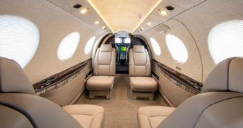 New Cessna Denali mockup on display