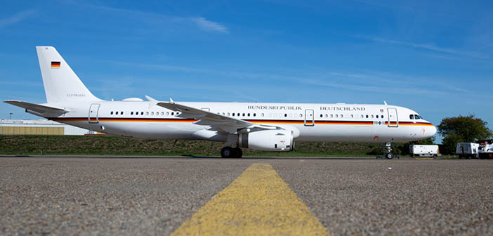 German Armed Forces receives converted A321 from Lufthansa Technik