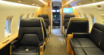 100th Bombardier Challenger retrofitted at Flying Colours Corp