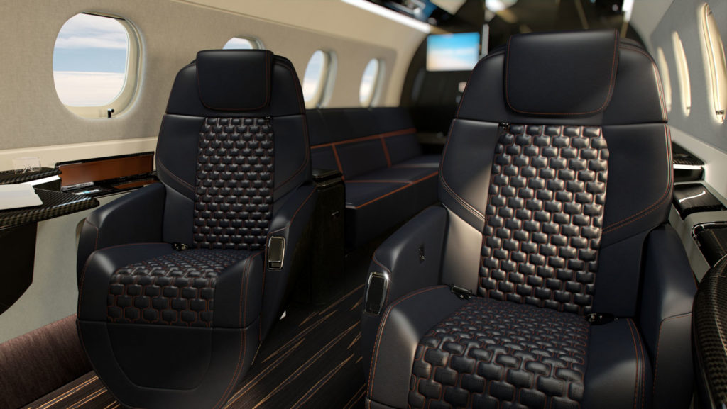 Embraer unveils two new jets and Bossa Nova interior option
