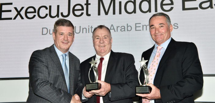ExecuJet Middle East honored at Bombardier ASF Excellence Awards