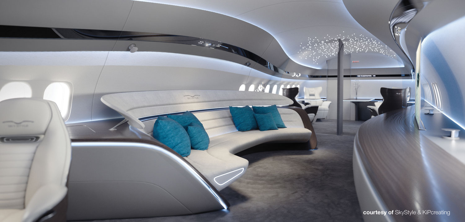 Interior Concept Revealed To Celebrate First Bbj Max Green Delivery Business Jet Interiors