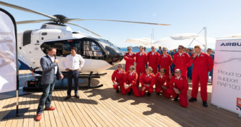 ACH135 Helionix configured for VIP charter delivered to HeliGroup