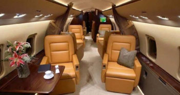 FAI's first Challenger 850 undergoes refurbishment