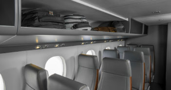 Cessna SkyCourier mockup displayed at NBAA-BACE