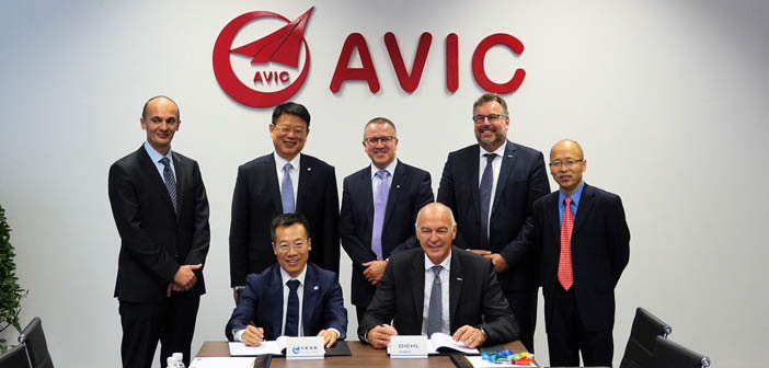 New cooperation between AVIC Cabin Systems and Diehl Aviation
