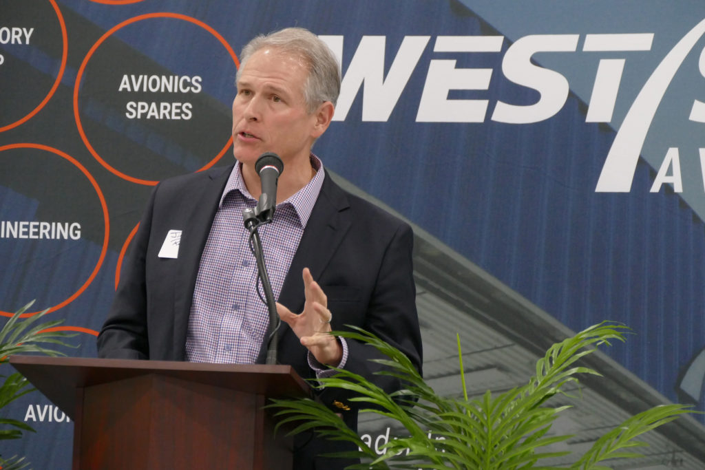 Open house for West Star Aviation's expanded Chattanooga facility