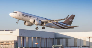 Maiden flight for ACJ320neo