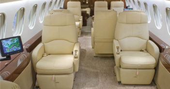 Falcon 7X charter operator adds third VIP aircraft