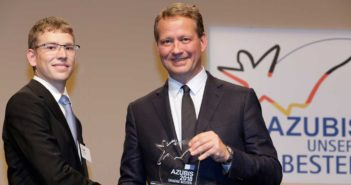 Aero-Dienst apprentice aircraft electronics technician recognized as Germany's best