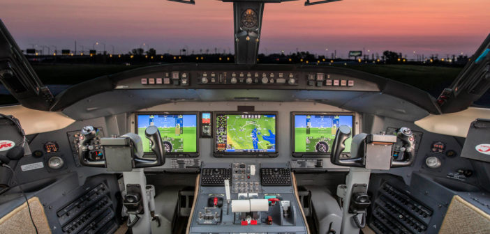 Pro Line Fusion STC for Nextant's Challenger 604XT program