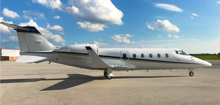 Learjet 60 refurbished by New United Goderich features Gogo Avance L3