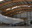 Head-of-state B747 arrives at AMAC for heavy maintenance