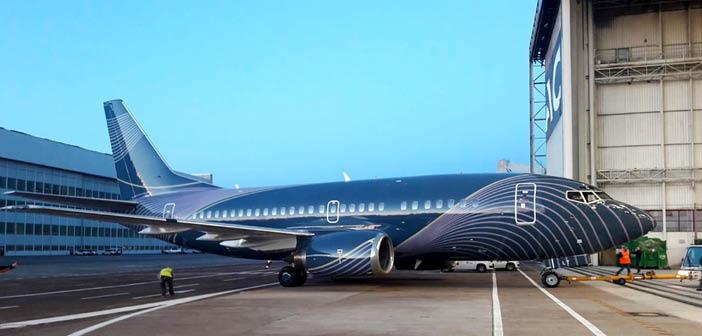 Three Boeing 737 500s Undergoing Reconfiguration For Klasjet Business Jet Interiors