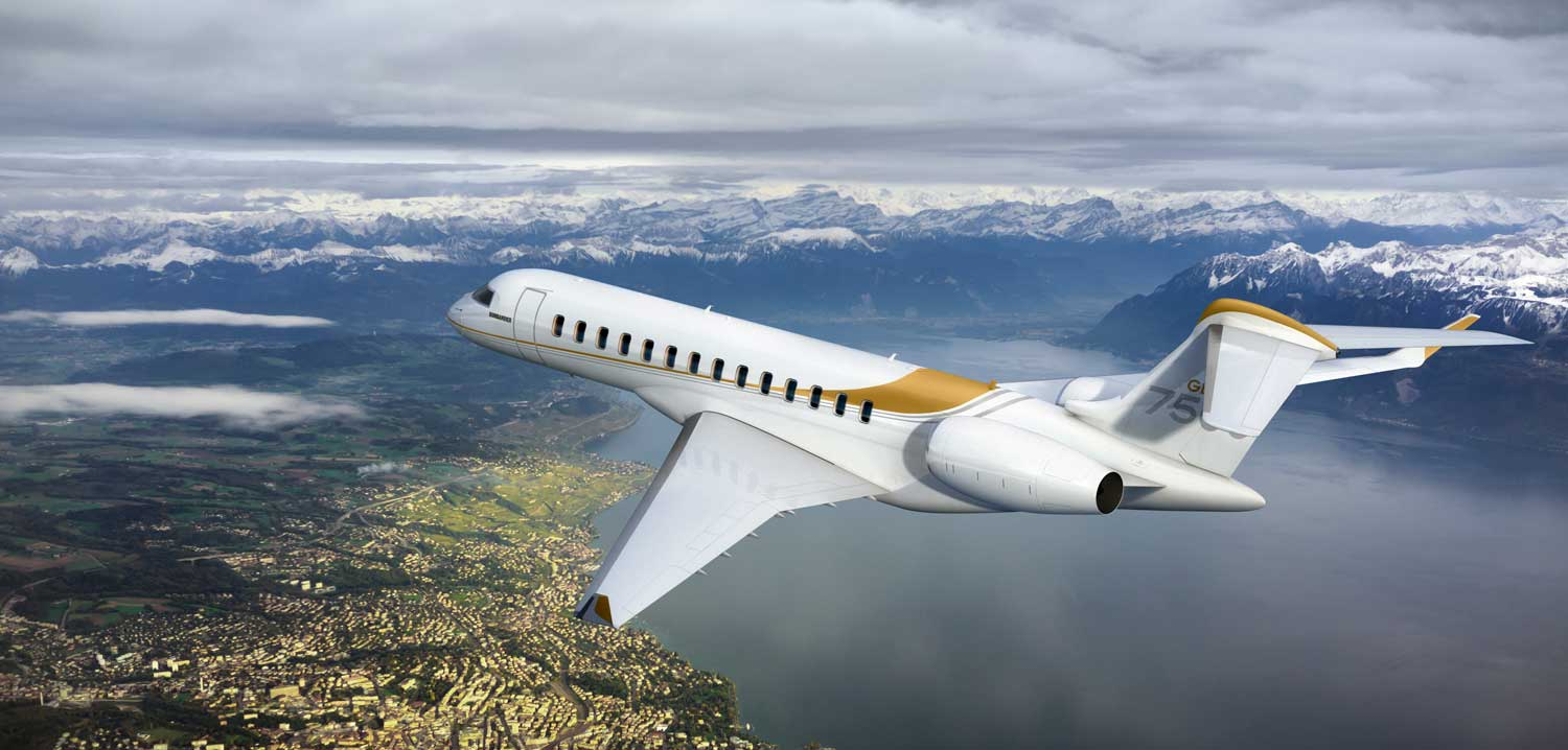 Image result for Bombardier Global 7500