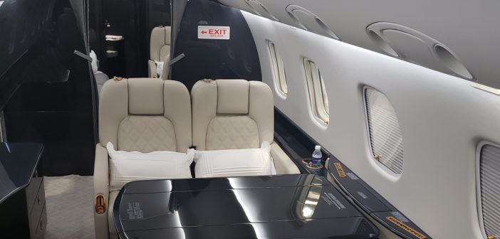 First full Legacy 600 renovation for Embraer's Sorocaba service center