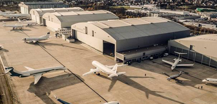 AMAC Aerospace completes major modification of head-of-state G650