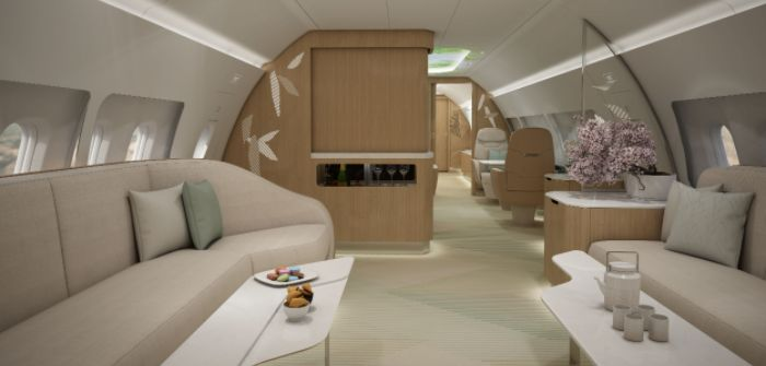 VIP cabin concept unites East and West