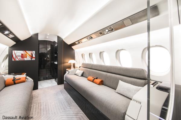 Business Jet Interiors Private Plane Aviation News Magazine Mag