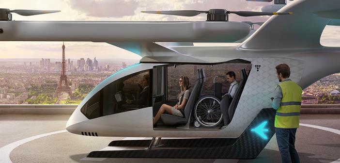 EmbraerX eVTOL concept