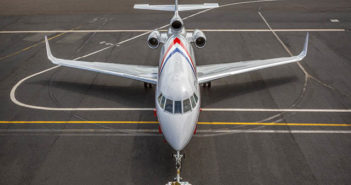Didier Wolff creates livery for Dassault Falcon 900EX