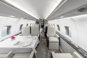 Luxaviation business jet interior. Source: Luxaviation