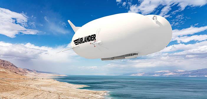 HAV unveils updated design for Airlander 10