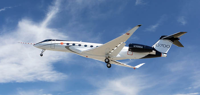 Maiden flight for Gulfstream G700