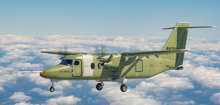 Cessna SkyCourier takes flight