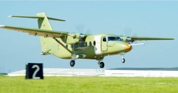 First flight for Cessna SkyCourier twin utility turboprop