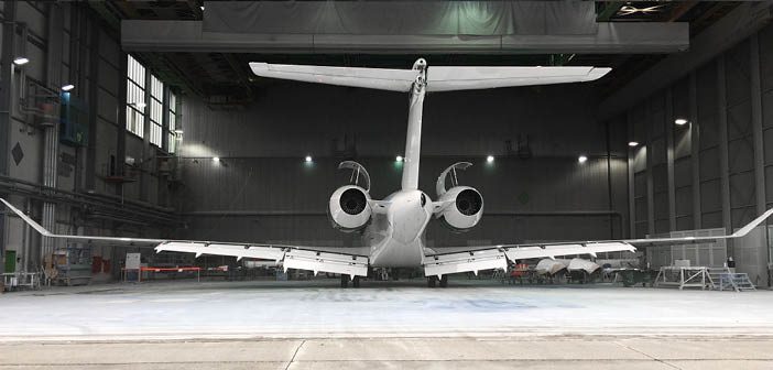 Bombardier Global 7500 MRO services added to approvals at Ruag's Munich site