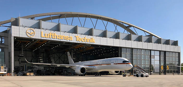 FEATURE: AR and an in-house 5G network – how Lufthansa Technik's technological resources aided its COVID-19 response