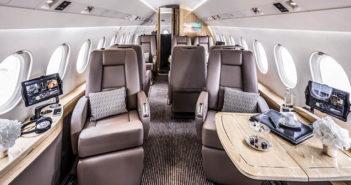 Global Jet welcomes a refurbished Falcon 2000LX