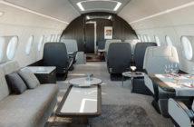The ACJ TwoTwenty cabin