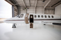 Hopkinson Aircraft Sales' Citation Ultra is the first aircraft up for auction on Global AVX