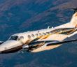 The Beechcraft King Air 360 turboprop