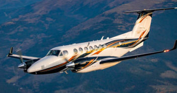 The Beechcraft King Air 360 turboprop