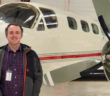 Sam McRickard, project manager at West Star Aviation's site in Grand Junction, Colorado