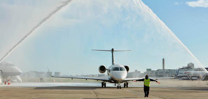 Flexjet welcomed the Praetor 600 to its Europe-based fleet