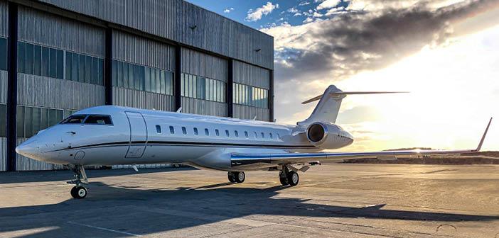 FAI added a Bombardier Global Express to its aircraft management fleet