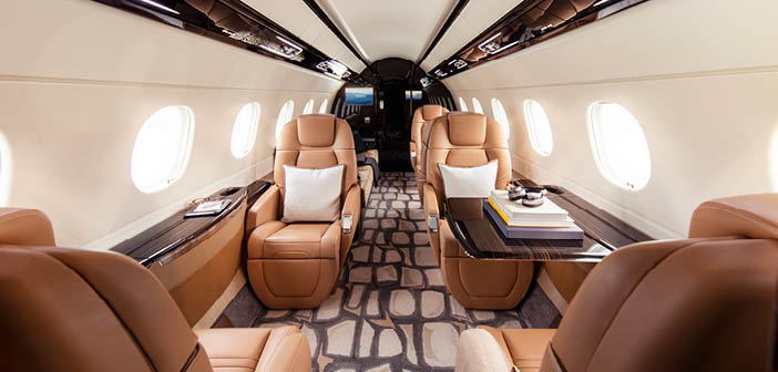 The Praetor 600 is available for shared-ownership purchase through Flexjet