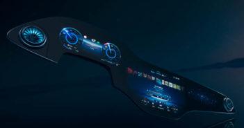 Mercedes-Benz's new MBUX Hyperscreen