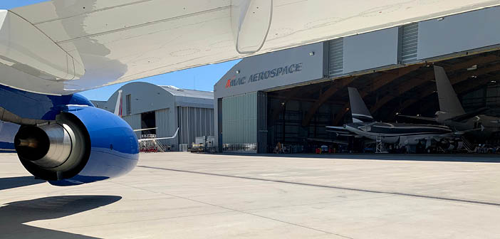 One of the latest projects for AMAC involves a BBJ 737 maintenance inspection