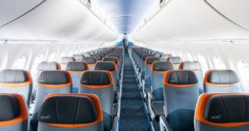 JetBlue's new A220 features Ultraleather Promessa AV
