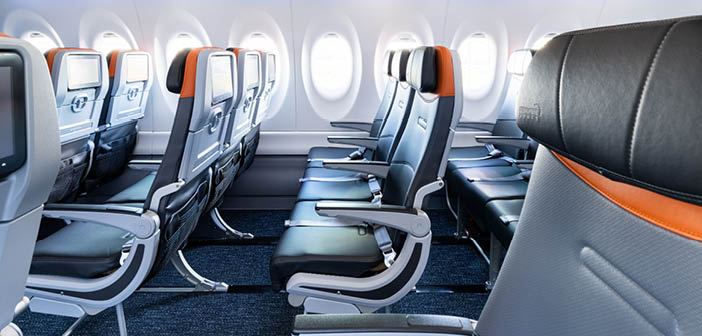 Ultraleather Promessa AV was used for additional seatback cushioning and headrest padding