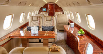 The Legacy 600 cabin was refurbished at the end of 2020