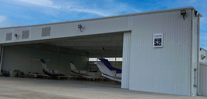 Duncan Aviation's new Houston satellite provides ramp access for customers at William P. Hobby International Airport