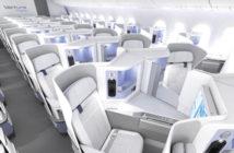 Jamco's Venture Pristine seat incorporates finishes designed to optimise hygiene