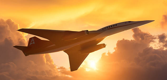 The Aerion AS2 supersonic business jet will accommodate 8-10 passengers