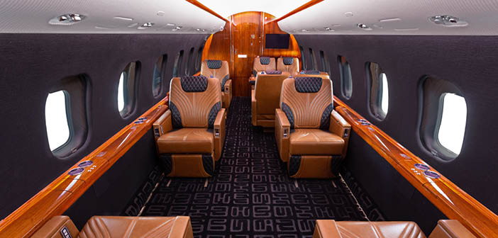 The Global Express XRS recently refurbished by Duncan Aviation